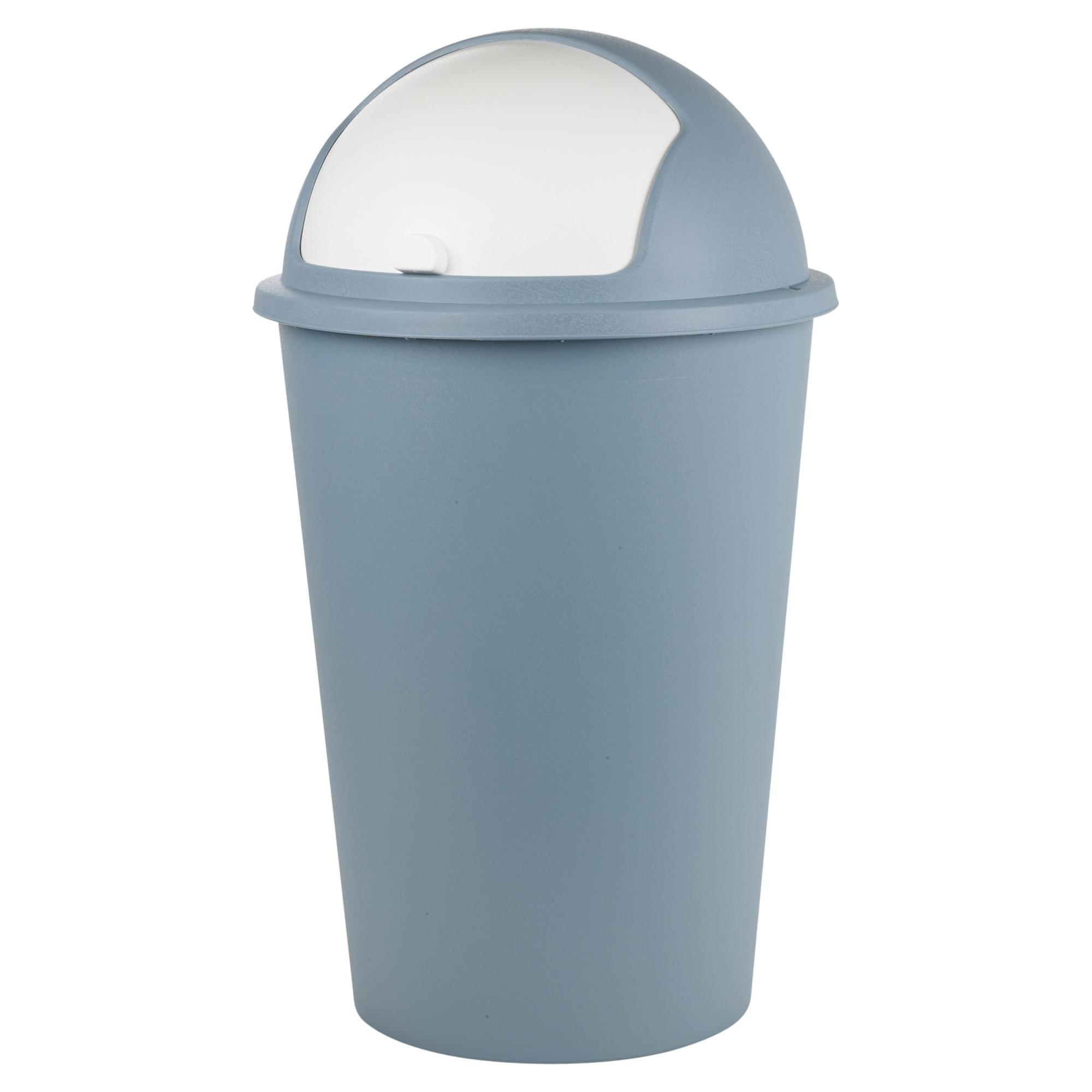 Raccolta Differenziata Bidoni Ikea dettagli su plastica 50l rullo top coperchio contenitori pallottola rifiuti  spazzatura
