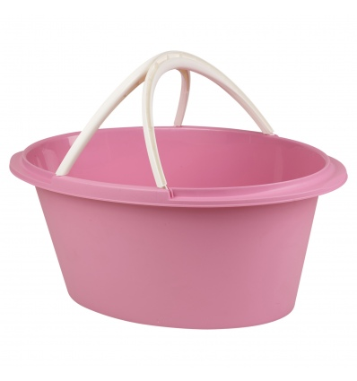 Oval Laundry Basket With Handles [278224]