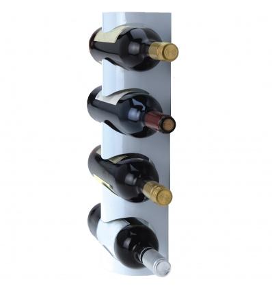 Metal Wine Bottle Holder White [990570]