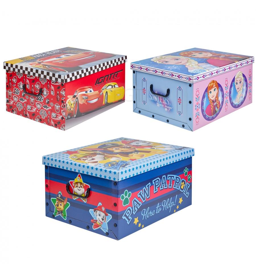 Disney Cardboard 49.5x39x24cm Toy Storage Gift Box