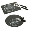 3pc Round Cheese & Knife Set [557972