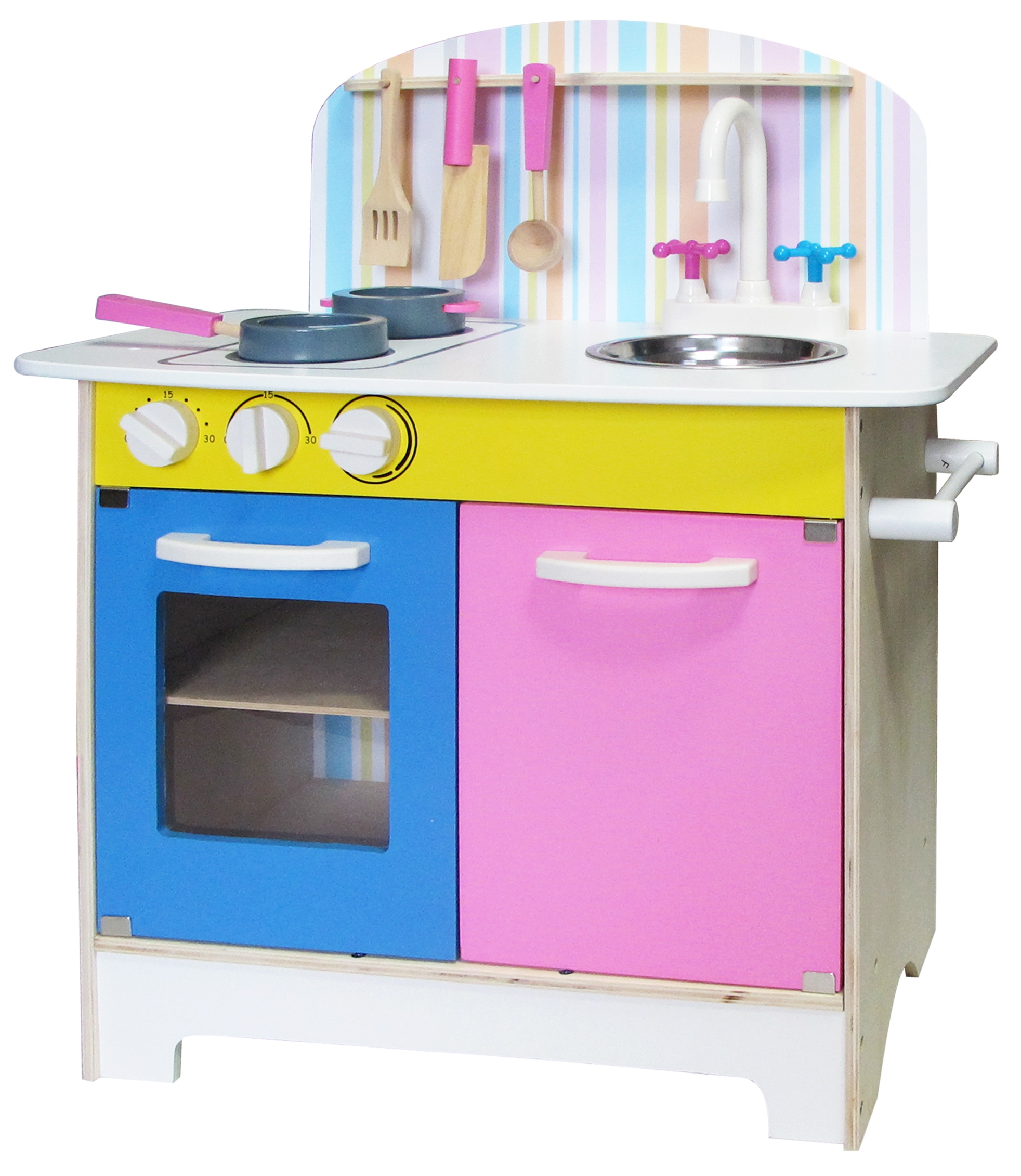 b58fcf1e9dfe Details about Kids 25pc Wooden Kitchen Set Role Play Toys Cooking Chef  Educational Gift Box