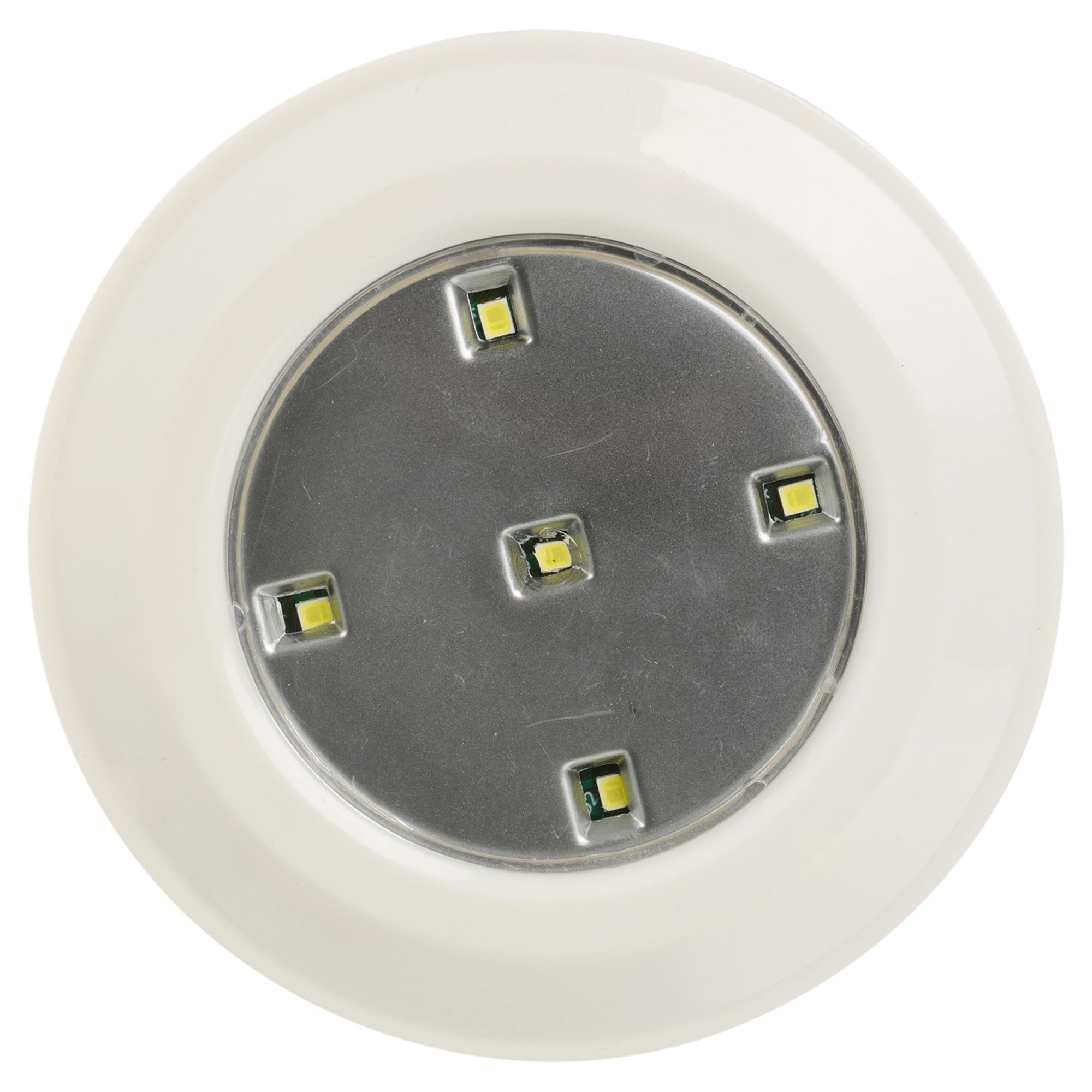 12 remote control wireless led push lights battery ceiling under kitchen cabinet 8711252798622. Black Bedroom Furniture Sets. Home Design Ideas