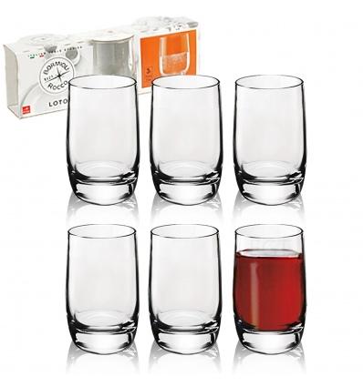 3x Loto Liquore 6.5cl Shot Glass [712965]