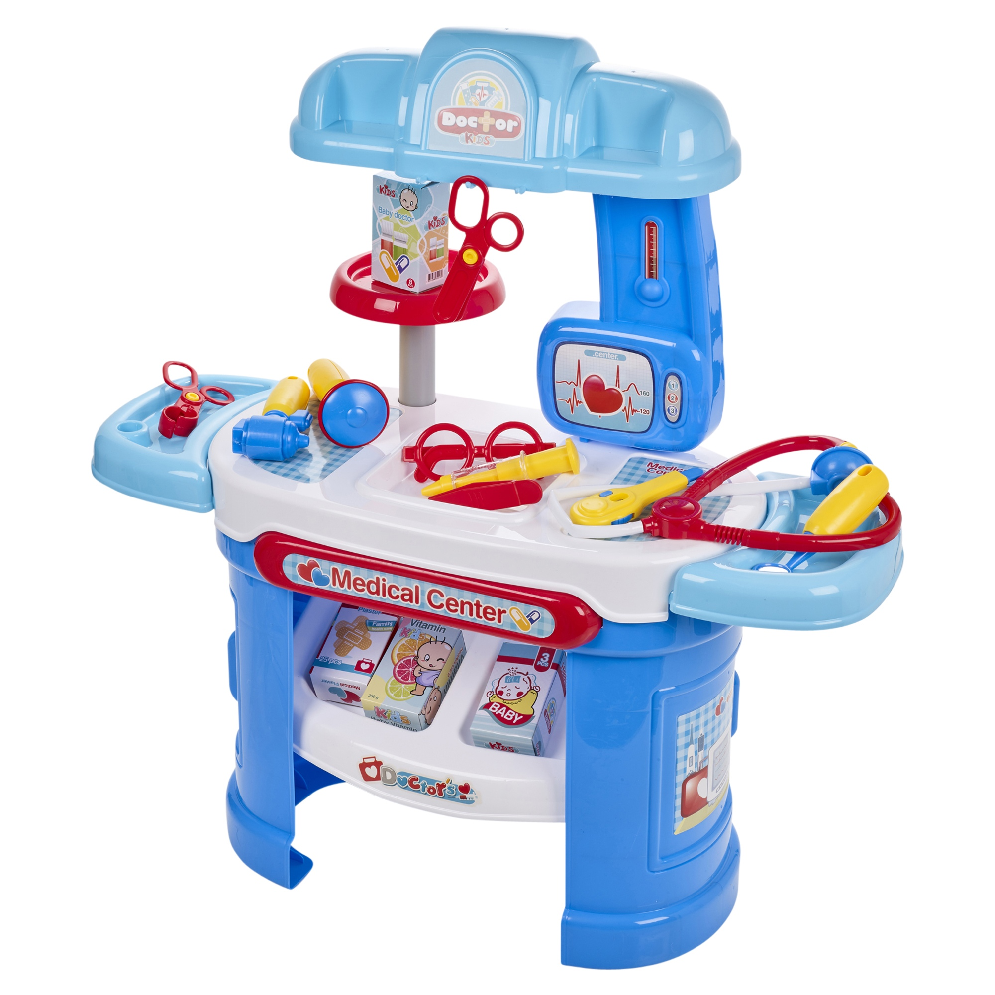 9b17b6121c6e0 Details about Doctor Medical Center Kids Children Play Set Role Play Nurse Medicine  Play Toy