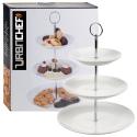 3 Tier Ceramic Cake Stand [Round] [472229/705908]