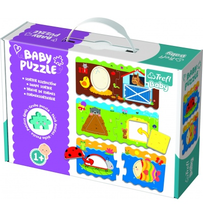 Puzzles - Baby Classic - Shapes sorter [360783]