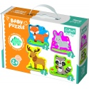 Puzzles - Baby Classic - Forest animals [360776]