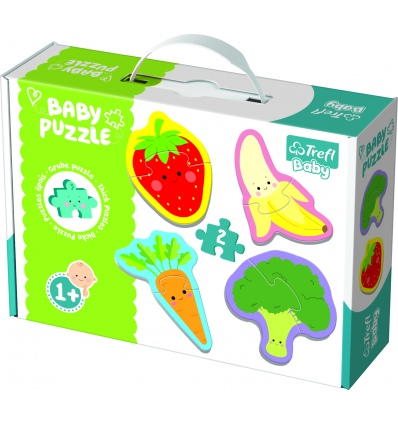 Puzzles - Baby Classic - Vegetables and fruits [360769]