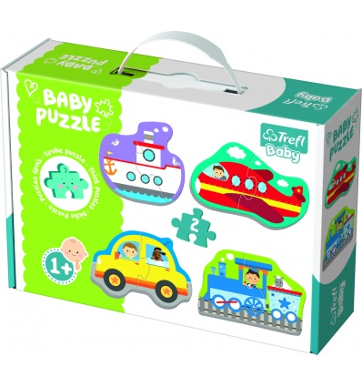 Puzzles - Baby Classic - Transport vehicles [360752]