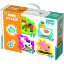 Puzzles - Baby Classic - Animals on the farm [360707]