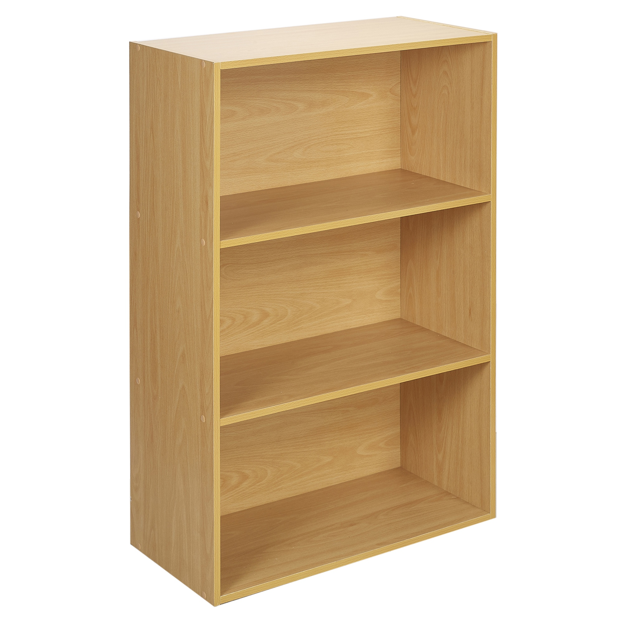 Childrens Kids 3 Tier Toy Bedroom Storage Shelf Unit 8: Wide 3 Tier Book Shelf Deep Bookcase Storage Cabinet