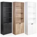 4 Tier Bookcase with 2 Doors Cupboard [EG-011]