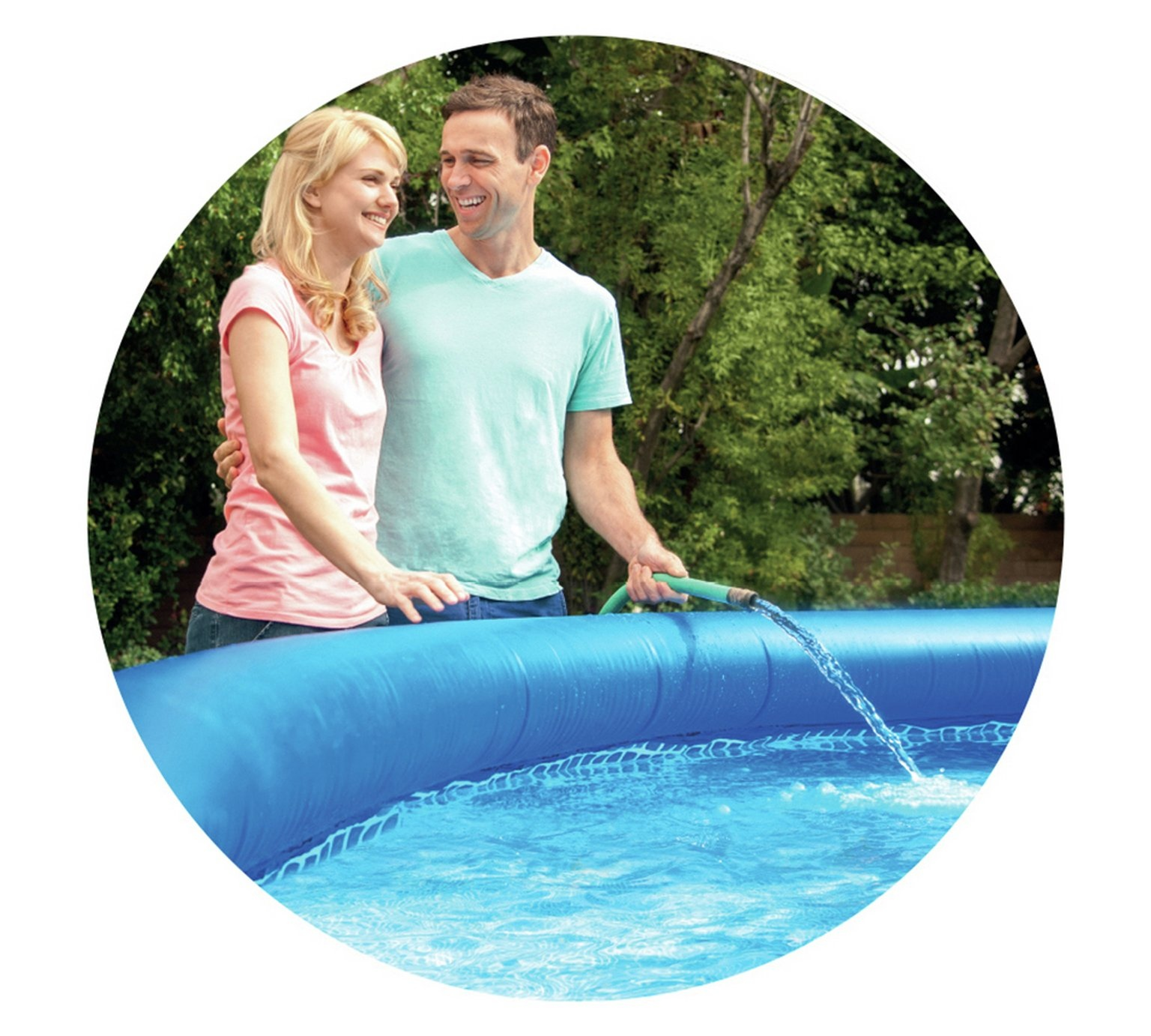 Large Inflatable Round Water Swimming Paddling Pool Summer