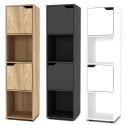 4 Cube Bookcases [FP-1x4]