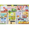 """""""Gigantic"""" - In the small town / Trefl Baby Floor Puzzle [90754]"""