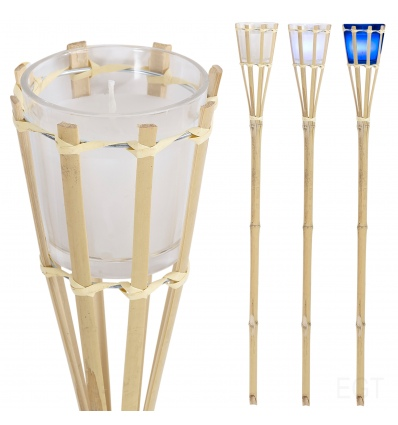 Colour Changing LED Bamboo Garden Torch Light [547634]