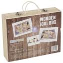 Wooden Mini Tool Box [390527] [A485]