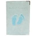 My First Passport Cover - Aqua [7414F BLUE]