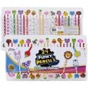 Grafix 24 Piece Funky Pencils [356500]