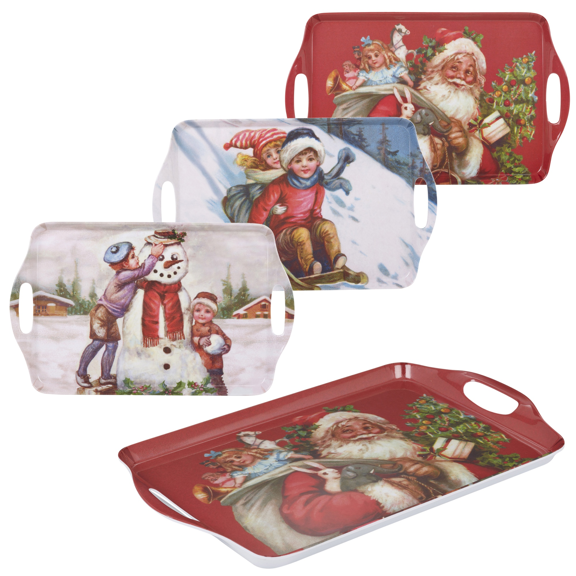 Melamine Christmas Platters.Details About Melamine Christmas Food Serving Tray Festive Holiday Platter Tableware Dinner