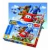 "Puzzles - ""60"" - A flight around the world / CJ E&M Super Wings [17307]"