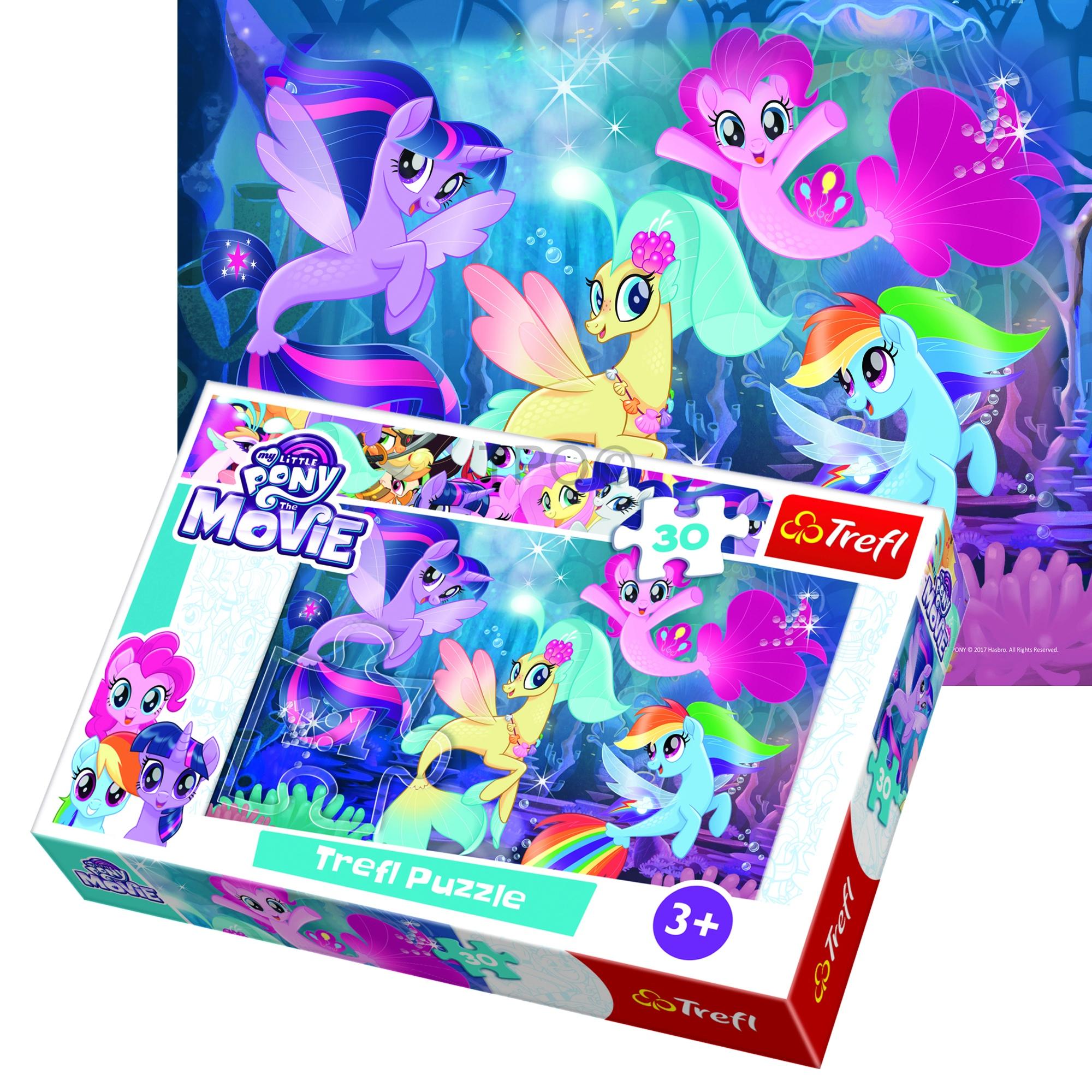 d176481f02 ... Größe des zusammengebauten Puzzle (mm): 270 x 200. Artikelbeschreibung.  Puzzle von 30 Stück von My Little Pony.