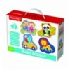 Puzzles - Baby Classic - Cheerful animals / Mattel Fisher-Price [36081]