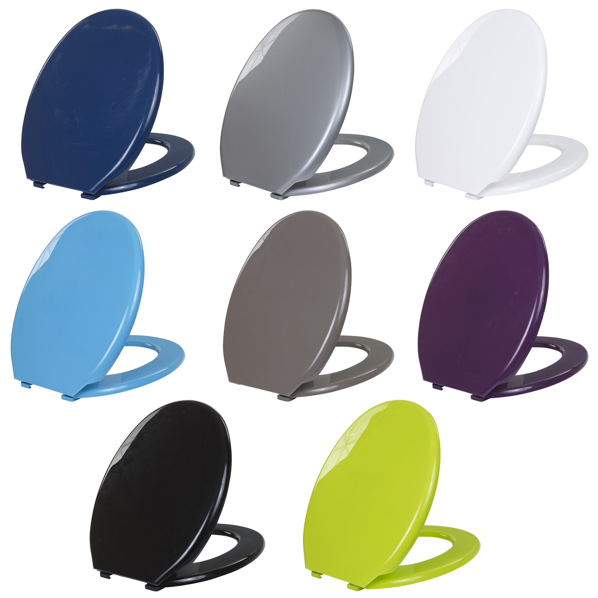 Admirable Details About Coloured Universal Toilet Seat Easy Clean Oval Shape Durable Plastic Bathroom Wc Pdpeps Interior Chair Design Pdpepsorg