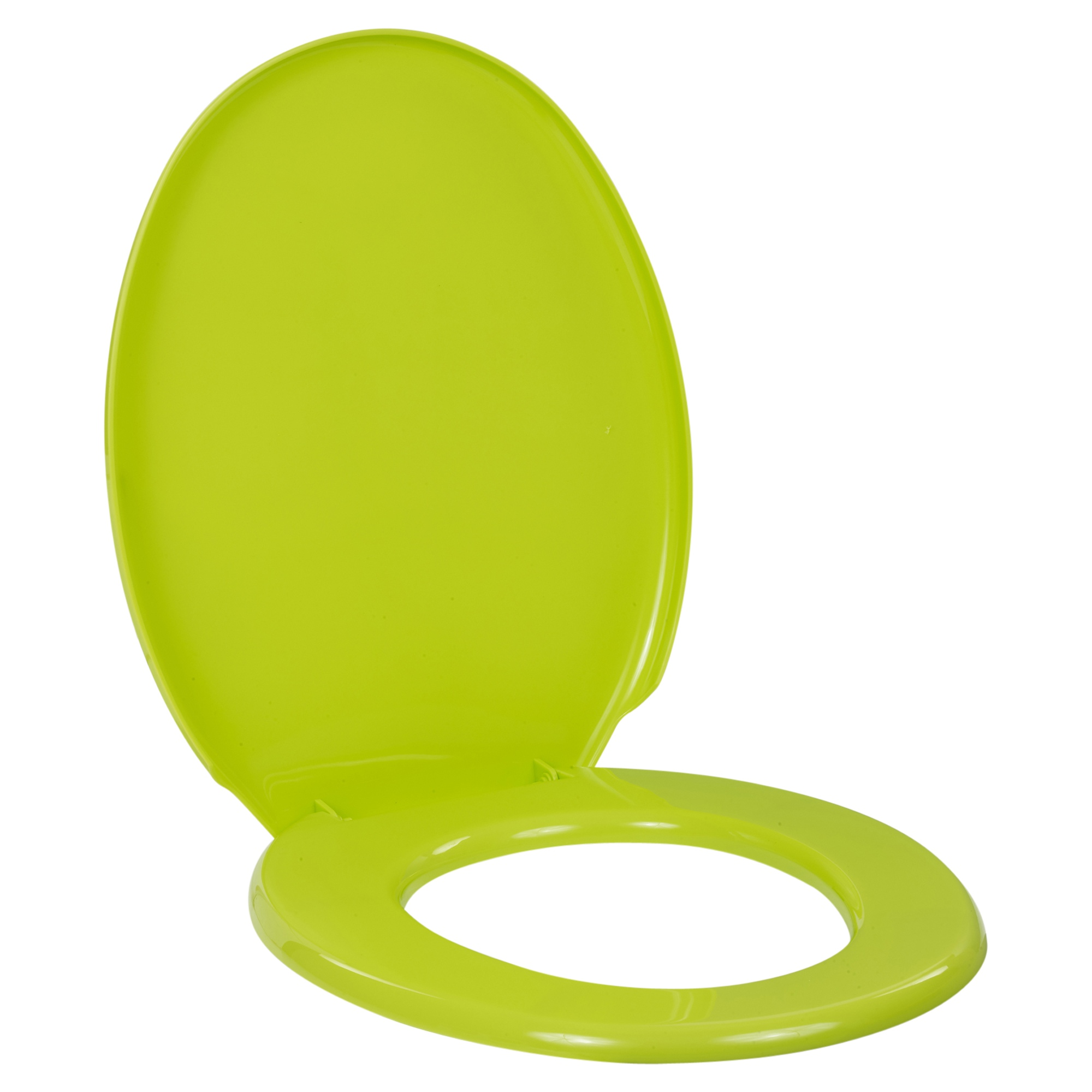 Coloured Universal Toilet Seat Easy Clean Oval Shape Durable Plastic Bathroom WC