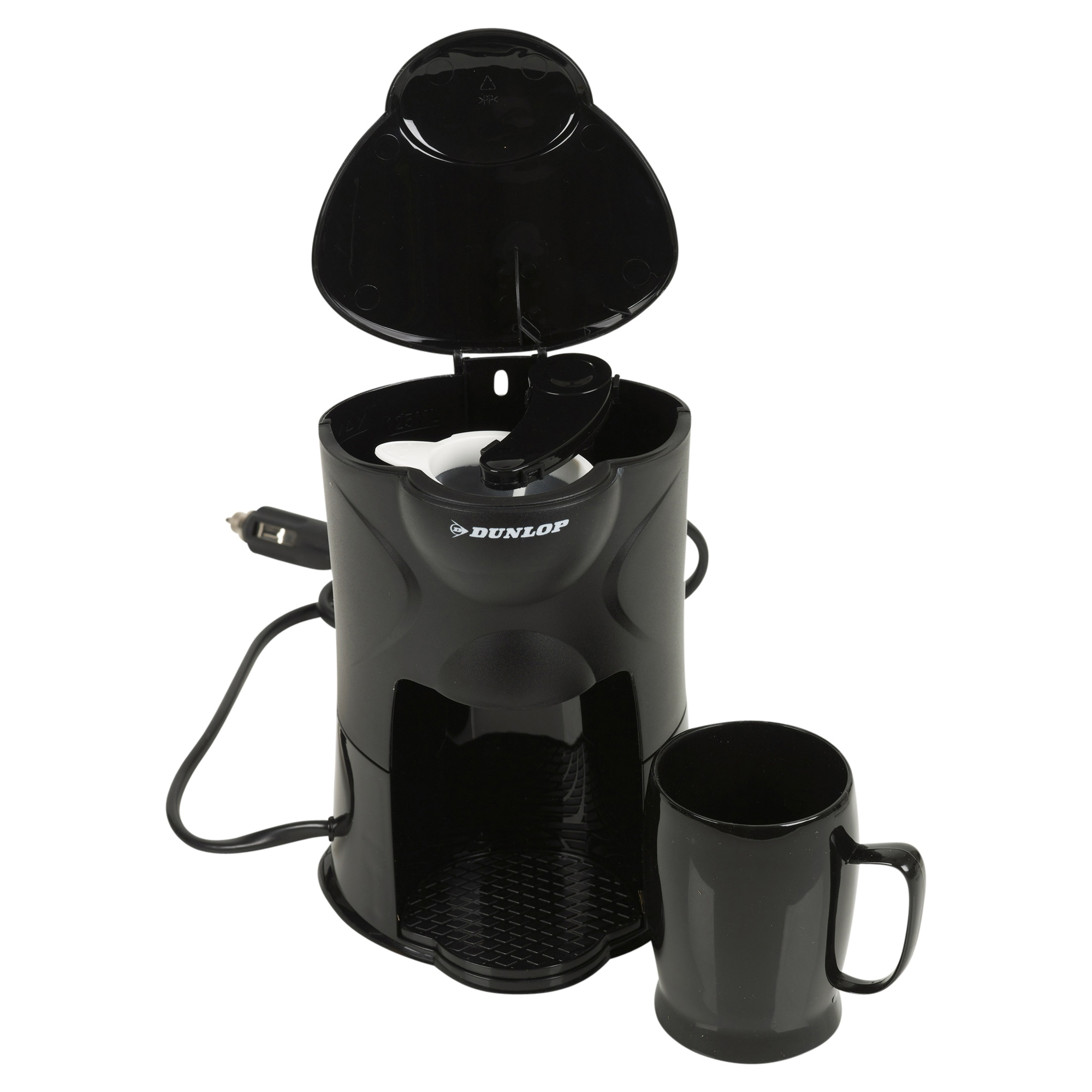 Car Camping Lorry Caravan All Ride 1 One Cup Coffee Maker Machine New Sealed 12v