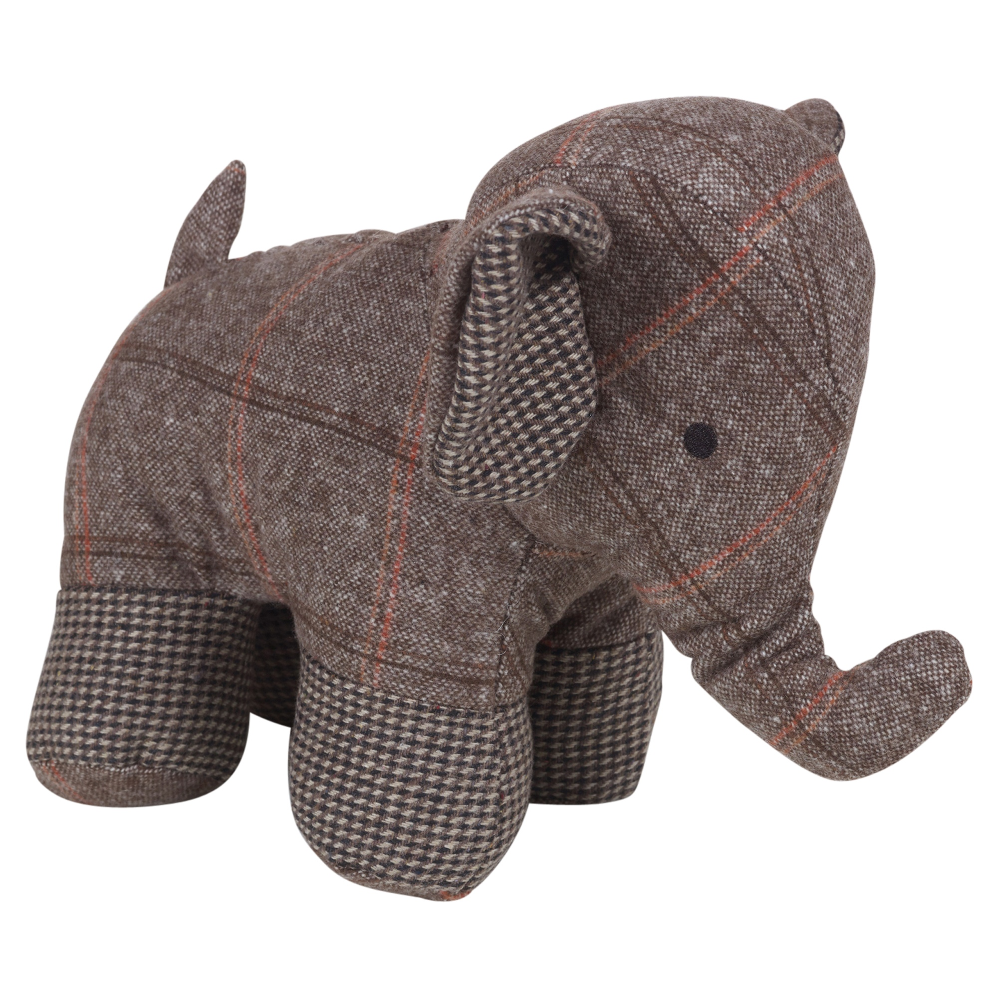 Elephant Door Stop Soft Stuff Plush Animal Novelty Cool Vintage Design 3 Colours Ebay