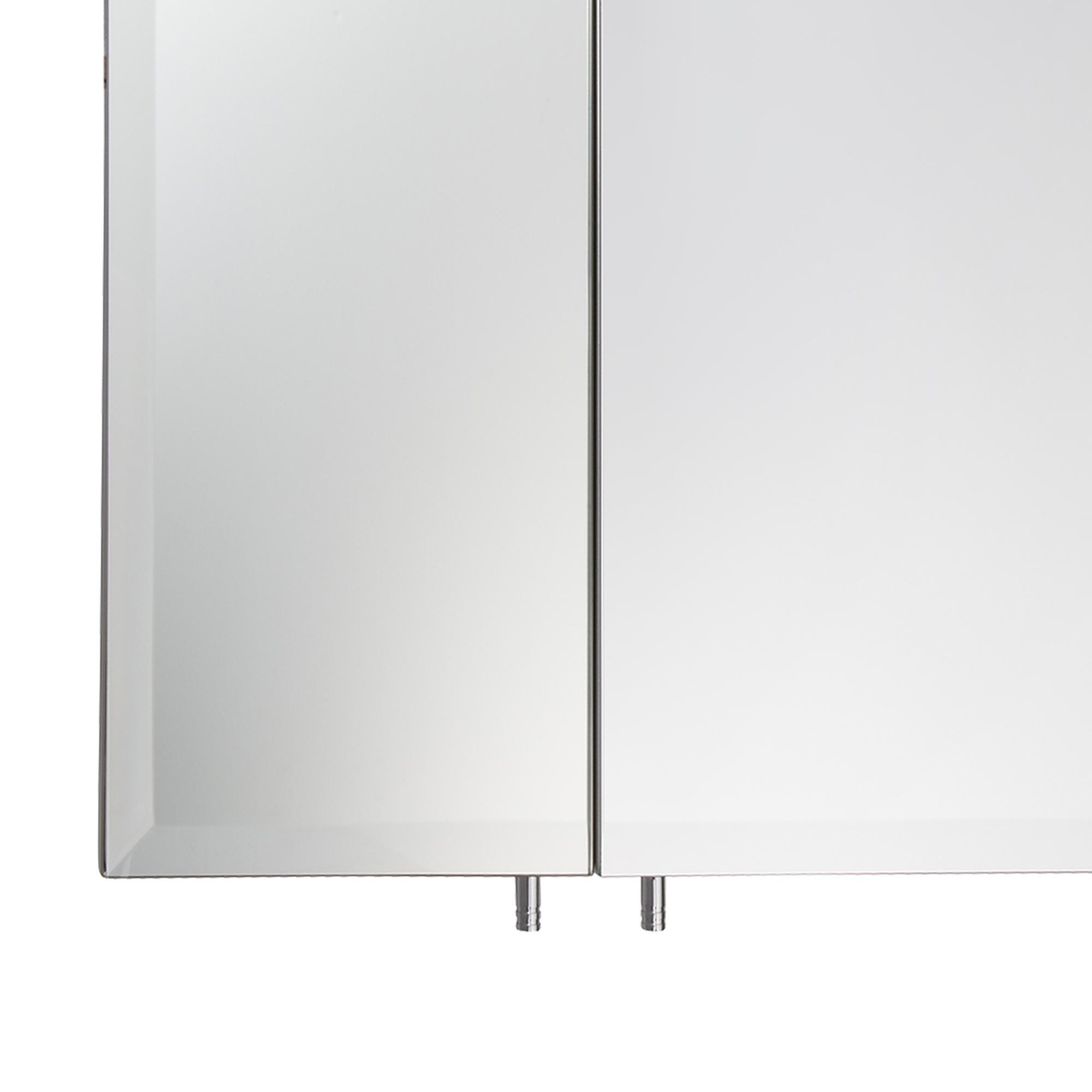 2 Or 3 Door Stainless Steel Wall Mounted Mirror Bathroom