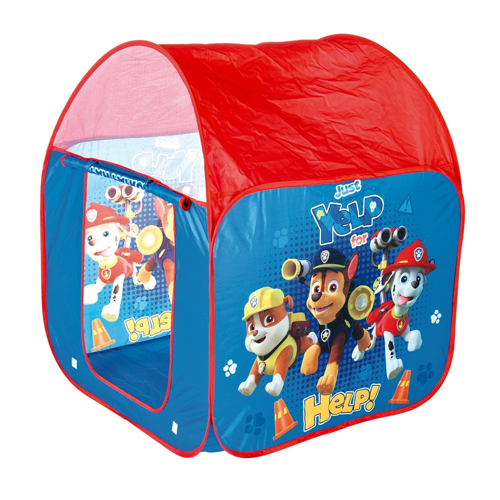 on sale 8ba9b d00d8 Details about Large Pop Up Tent Paw Patrol Nickelodeon Kids Children Indoor  Outdoor Playhouse
