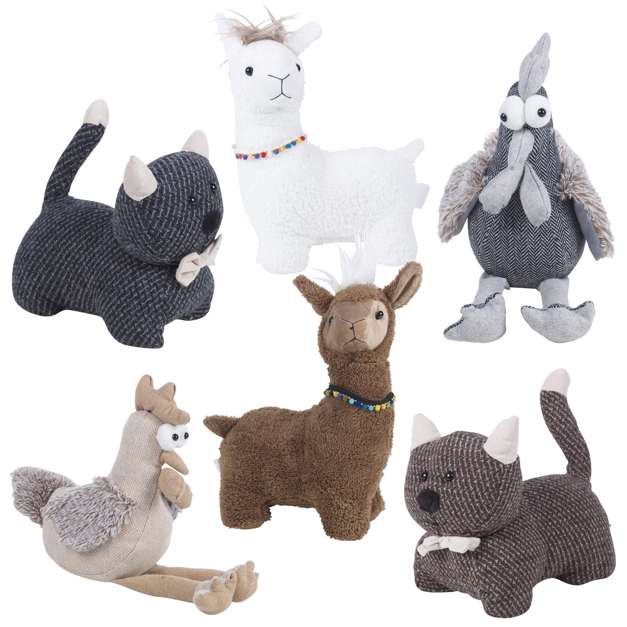 Novelty Fabric Animal Pet Door Stop Stopper Wedge Filled Heavy Trendy Stylish Ebay