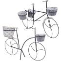 Outdoor Freestanding Flowerpot Bicycle Design [992434]