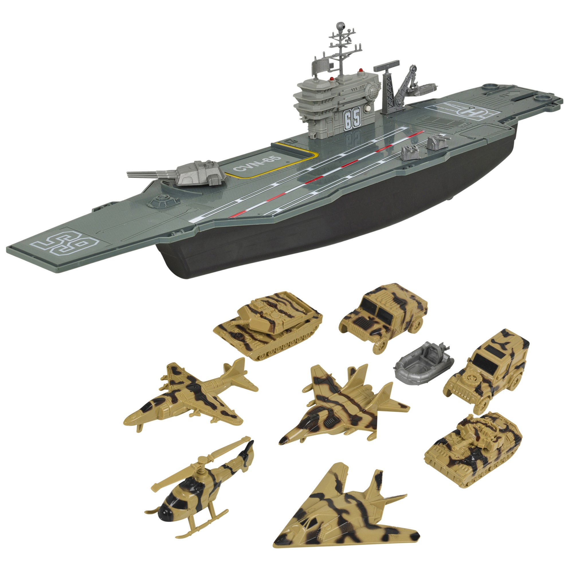 Aircraft Carrier Model Game Ship Display Warship
