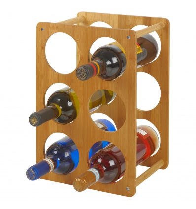 Bamboo Wine Rack For 6 Bottles [944457]