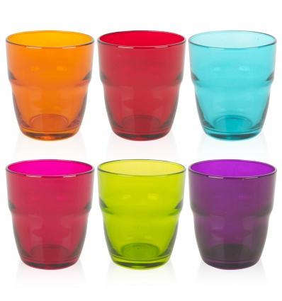 Modulo Multicolour Set Of 6 Glasses [078879]