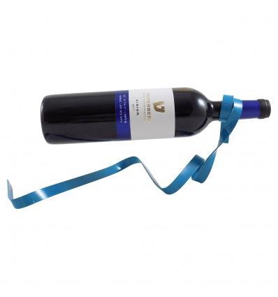 Floating Blue Wine Bottle Holder