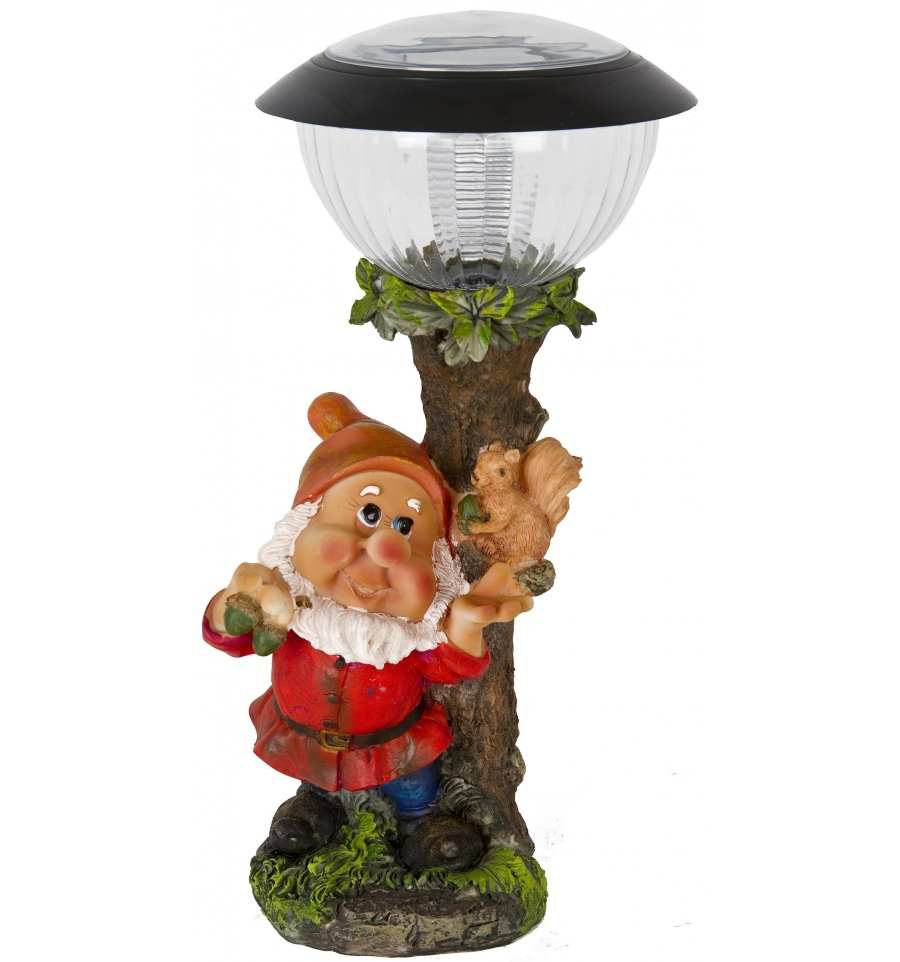 Gnome Solar Led Light Fruits Animals