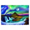 """Puzzles - """"600 Crazy Shapes"""" - Aurora over Iceland [11114]"""