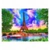 """Puzzles - """"600 Crazy Shapes"""" - Sky over Paris [11115]"""