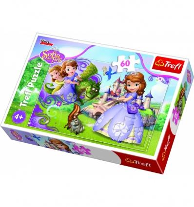 """Puzzles - """"60"""" - Princess Sofia adventures  [17313]"""