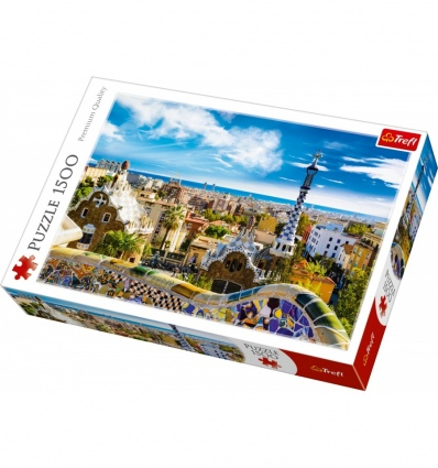 """Puzzles - """"1500"""" - Park Guell, Barcelona  [26147]"""