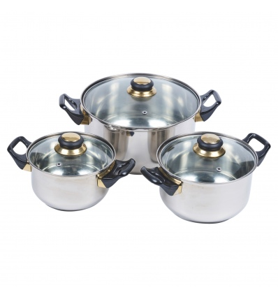 6pcs Cookware Set [LB-963S]