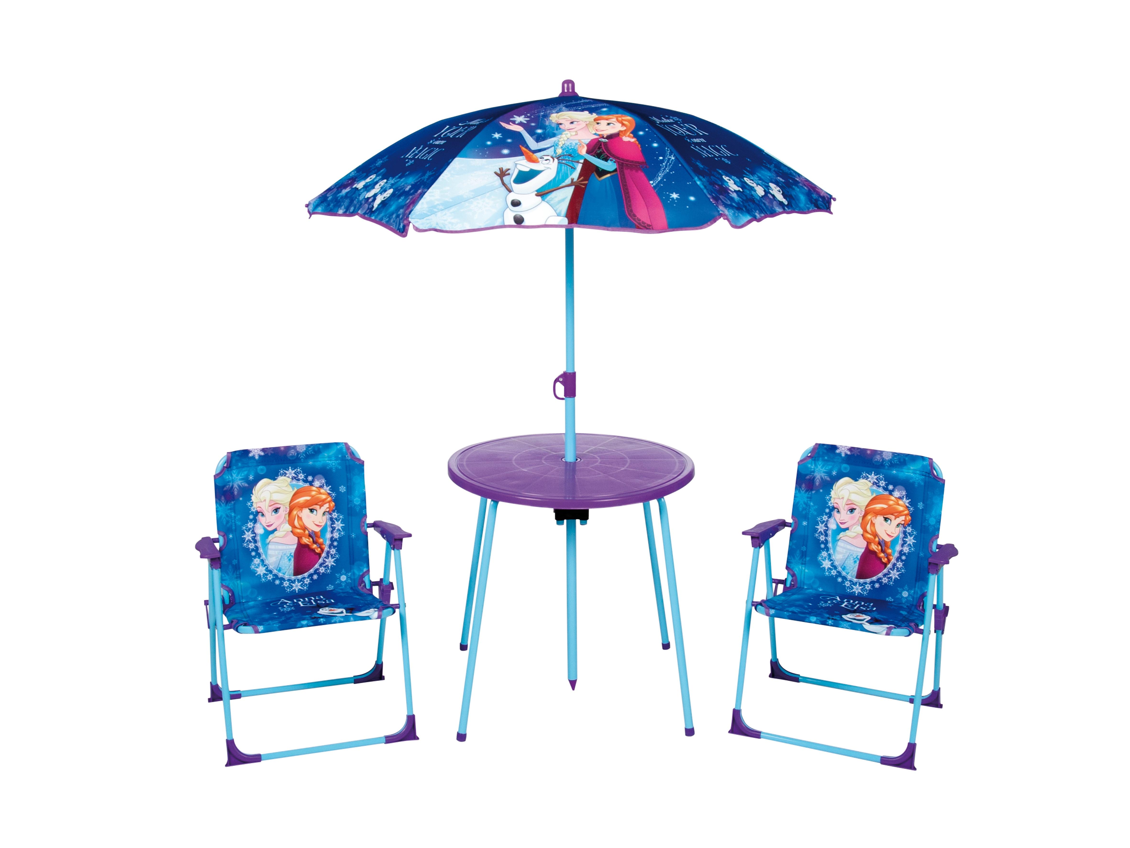 Kids Outdoor Garden Picnic Chair Table Amp Parasol Sun Shade