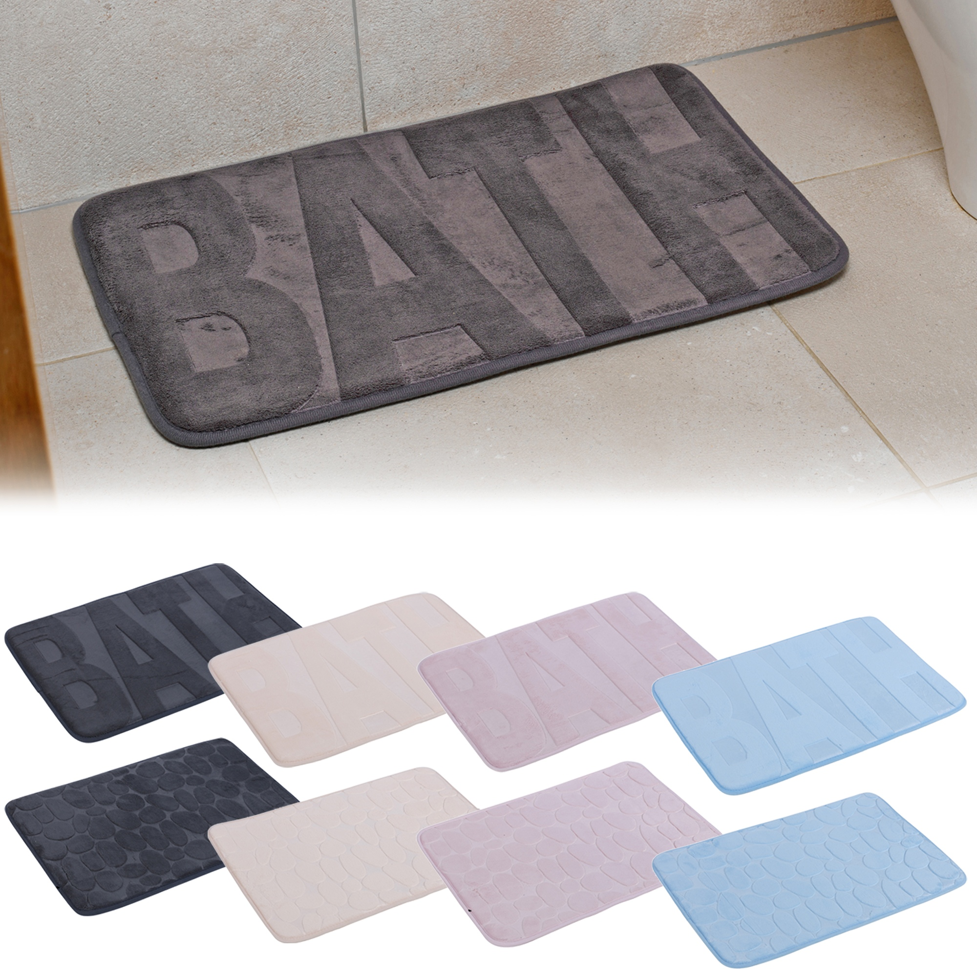 Bath Bath Rug Non Slip Absorbent Soft Bathroom Carpet Shower Floor Mat Uk Home Furniture Diy Hashtagcoffee Com Au
