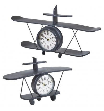 Plane Model Shelve Clock
