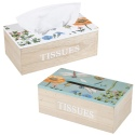 Tissue Box With Insect and Flower Print [972801]